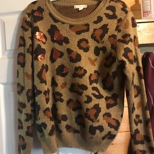 It's our time sweater NWOT size L